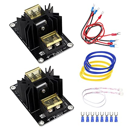 Electronic Components & Supplies Latest Collection Of 2pcs 30a Mos Tube Heat Bed Power Module Expansion Board Mos Tube Hotend Replacement With Cables For 3d Printer Parts