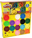 Play Doh - Play Doh-Pâte À Modeler Supercolor Kit