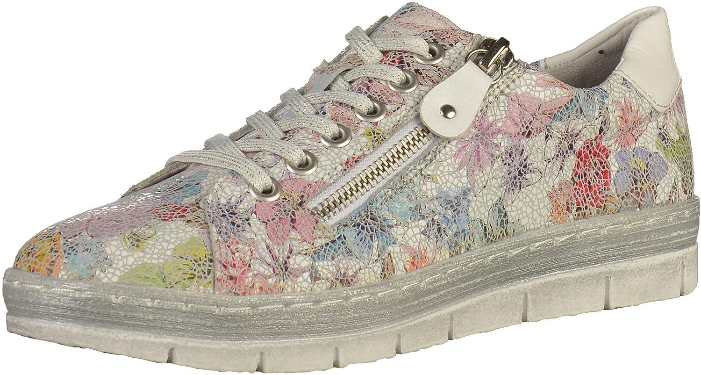 Remonte D5800, Zapatillas para Mujer 39 EU|Multicolor (Ice-multi/Bianco 93)