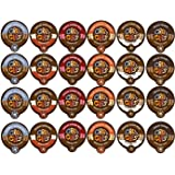 Crazy Cups Coffee Chocolate Lovers Single Serve Cups Variety Pack Sampler for the KCupBrewer, 24 count