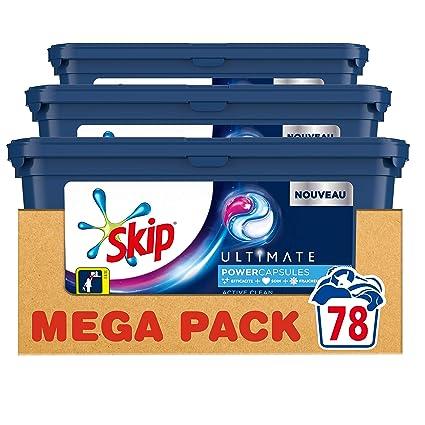 Skip lavandería Cápsulas Trio Ultimate Active Clean 26 ...