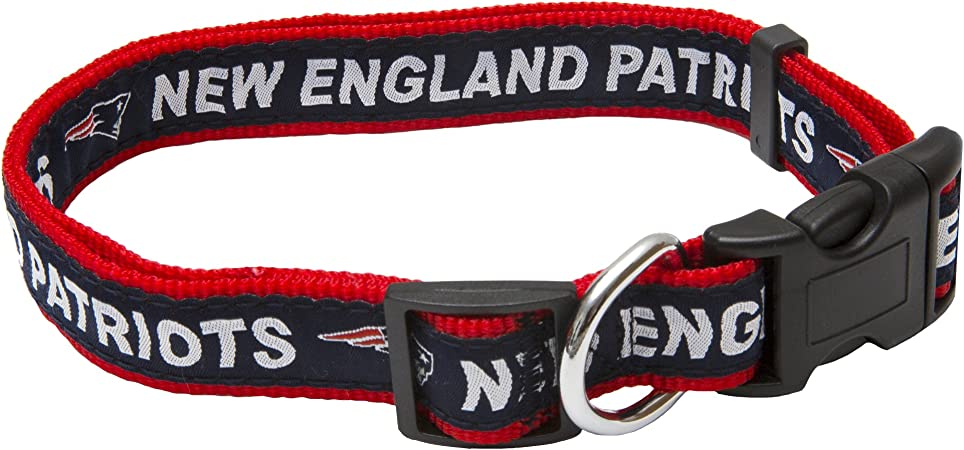 32 NFL Teams available in 4 Sizes NFL DOG COLLAR Football Gear for the Sporty Pup. Strong /& Durable NFL PET COLLAR Heavy-Duty