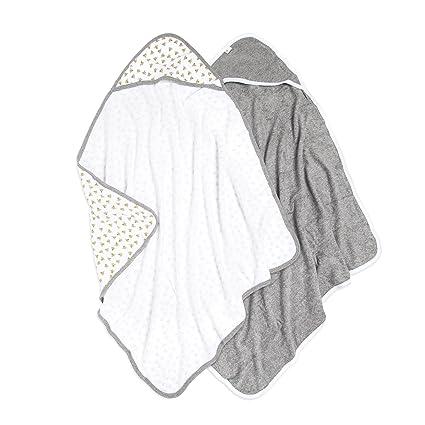 Honey Baby Girls Hooded Towel /& 5-Pack Washcloth BRAND NEW!!!!!