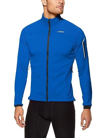 adidas Herren Stockhorn Fleece Langarm Sweatshirt: