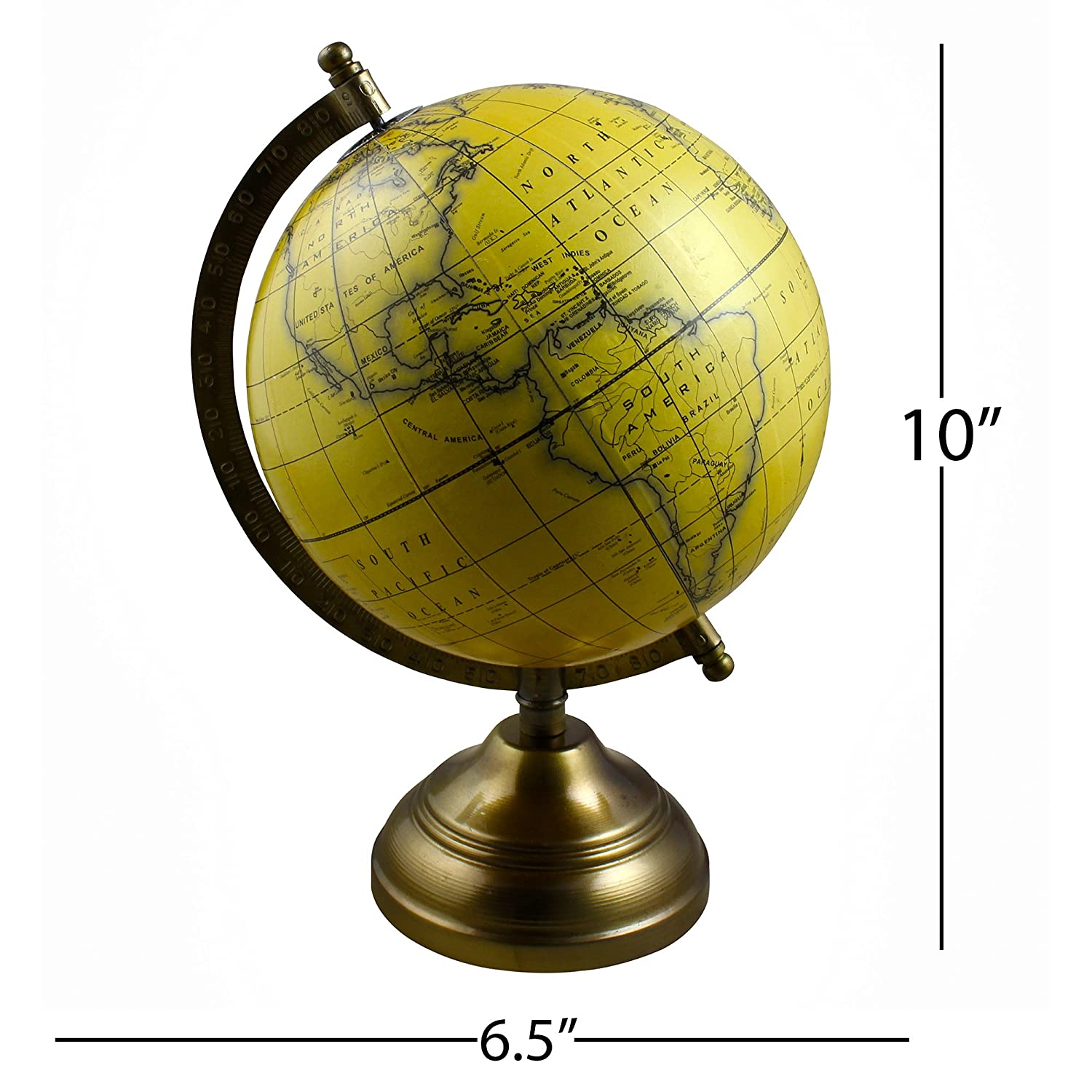 Political Globe Geographical Map with Stand 10 Inches Stock Clearance Sale! Home Office Table D/écor