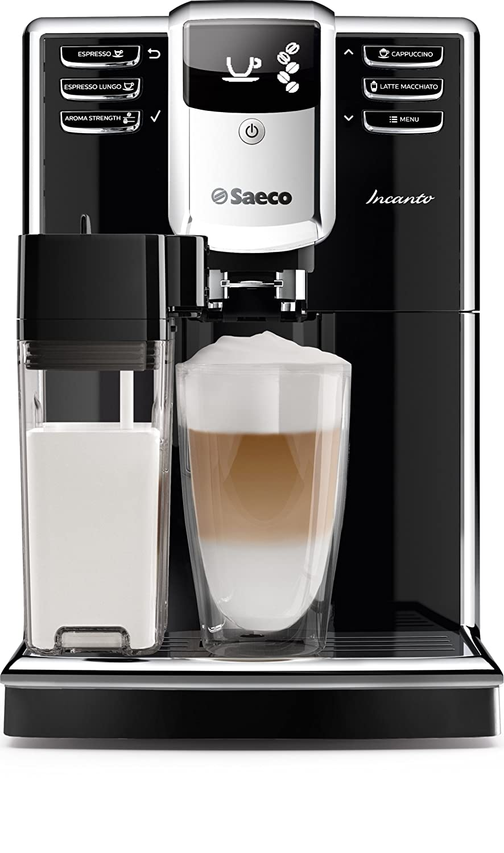 Saeco Incanto HD8916/01 - Cafetera (Independiente, Máquina espresso, 1,8 L, Molinillo integrado, 1850 W, Negro): Amazon.es: Hogar