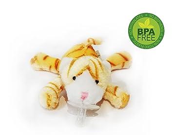 Suave gatito animales de peluche de juguete de regalo para bebés Chupete - Los más vendidos para regalo de la ducha del bebé
