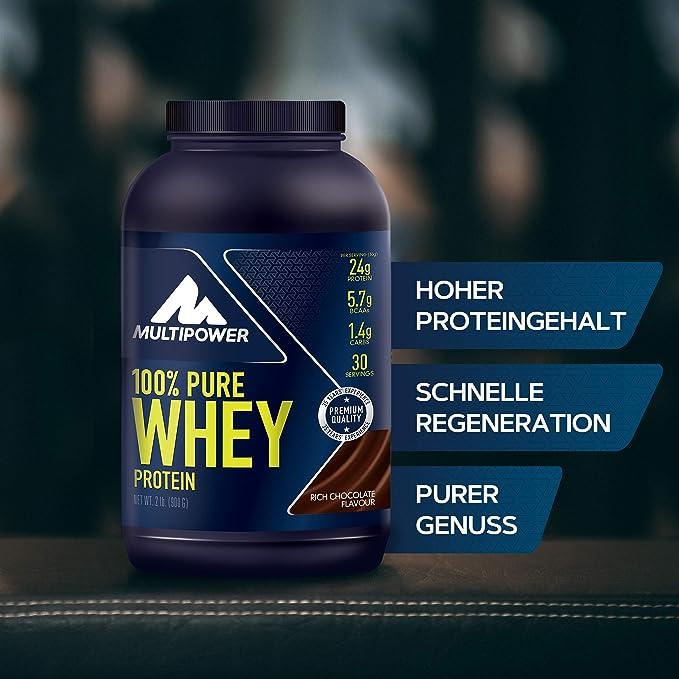 Multipower 100% Whey Protein Rich Chocolate - 900 gr