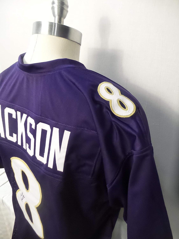 Lamar Jackson Signed Baltimore Ravens Purple Autographed Jersey JSA