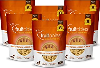 product image for Fruitables 7 Ounce Crunchy Baked Dog Treats Sweet Potato and Pecan Flavor Pack of 6