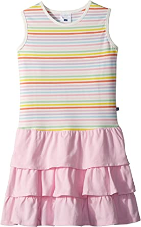094d08277 Amazon.com  Toobydoo Womens Rainbow Ruffle Tank Dress (Toddler ...