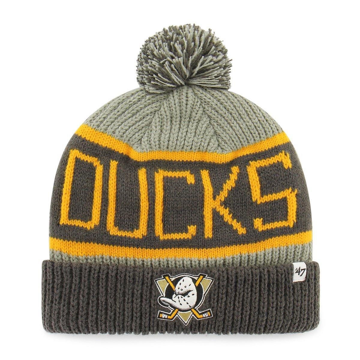 '47 Brand Calgary Knit NHL Bobble Hat