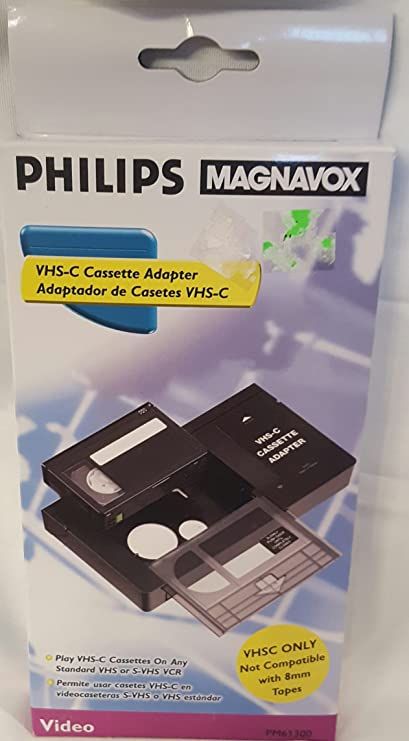 Philips Magnavox Pm61300 Vhs-c Adapter
