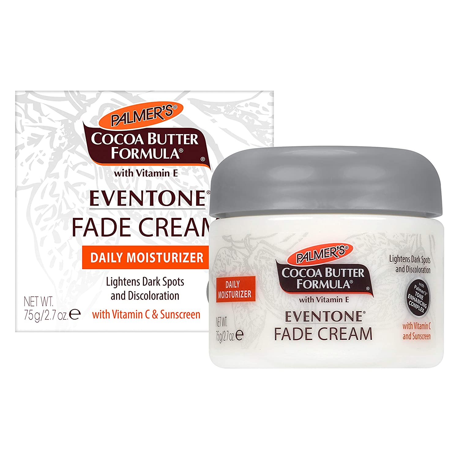 Palmer's Cocoa Butter Formula Eventone Fade Cream Daily Moisturizer for Dark Spots & Discoloration