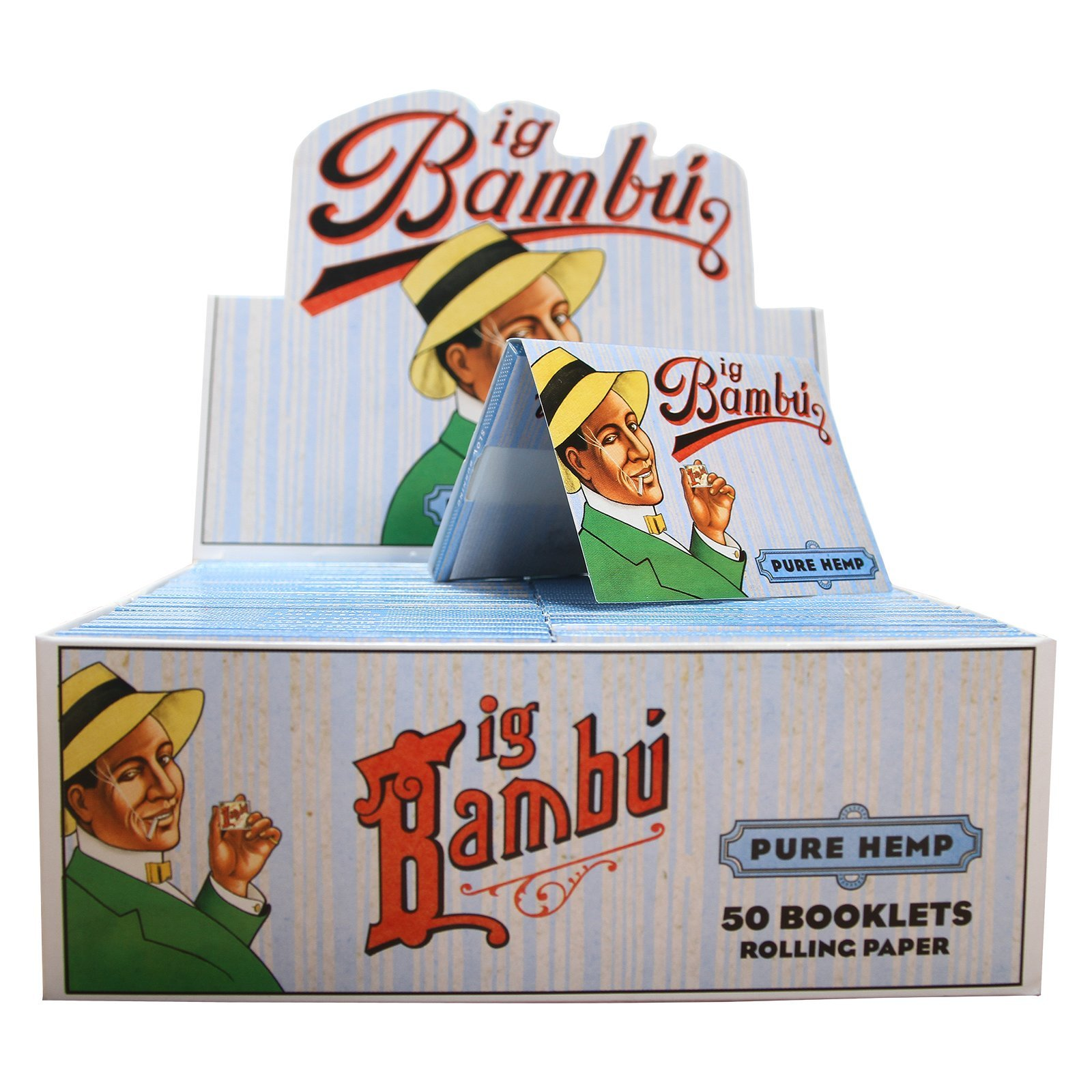Bambu - Big Bambu Pure Hemp Rolling Paper (50 Booklets)