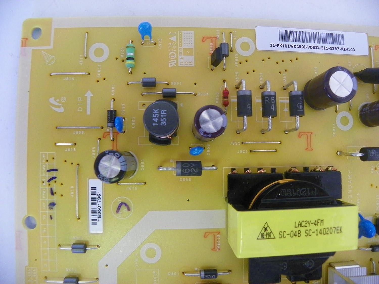 Toshiba 75037431 Power Supply Board PK101W0490I
