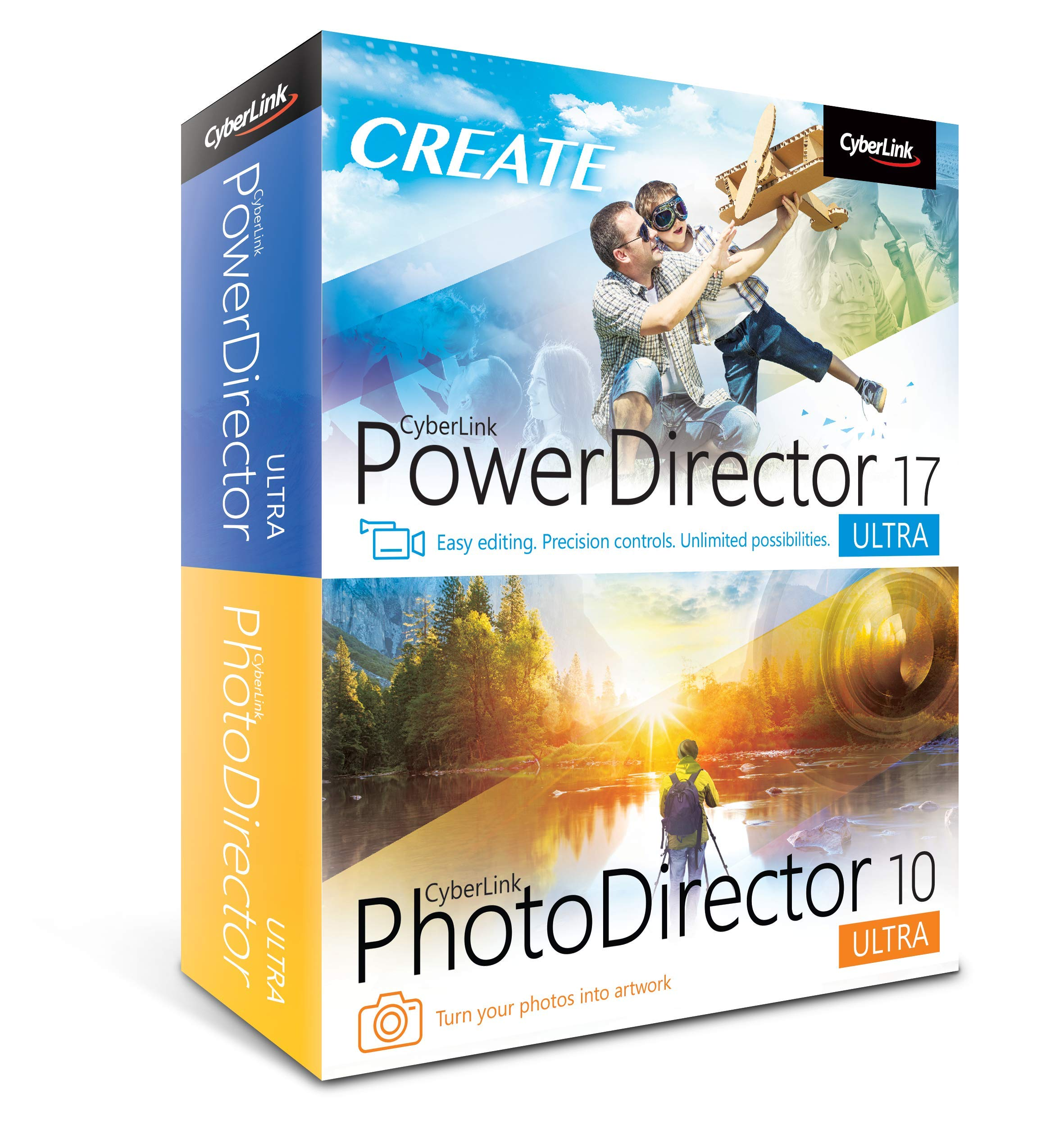 Cyberlink PowerDirector 17 and PhotoDirector 10 Ultra by Cyberlink
