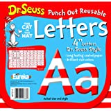 Amazon Price History for:Eureka Dr. Seuss Punch Out Reusable Decorative 4-Inch Letters, Stripes, Set of 200 (487215)