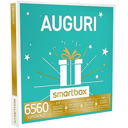 Smartbox - Auguri - 6560 Esperienze Tra Soggiorni, Attività Di Gusto o  Svago, Cofanetto Regalo, Multiattività