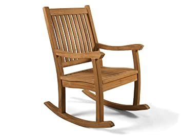 premier grade a teak wooden rocking chair outdoor wood rocking