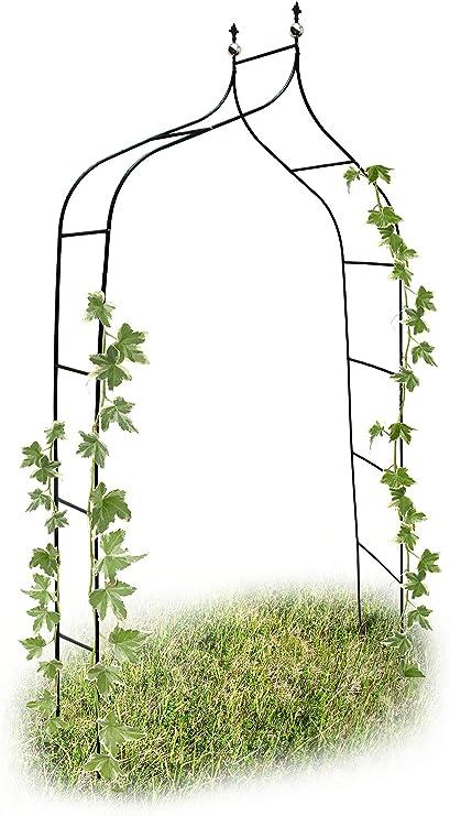 Relaxdays 10017904 - Arco para trepadoras, 1.70 x 2.4 m, Color ...