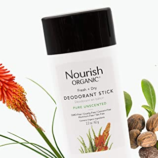 product image for Nourish Organic Deodorant, Pure Unscented, 2.2 Ounce