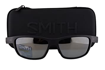 569fbca425 Smith Ridgewell Sunglasses Matte Black w Polarized ChromaPop Platinum Lens  DL5