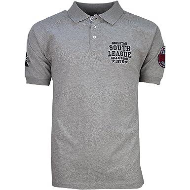 6d61bacc7544 Soulstar Mens Designer South League Champions Polo Shirt: Amazon.co.uk:  Clothing