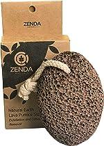 Natural Earth Lava Pumice Stone for Foot Callus by Zenda Naturals