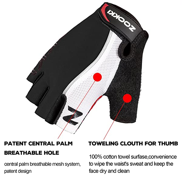 Zookki Cycling Gloves Mountain Bike Gloves