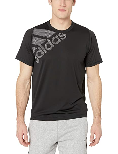 a0ea44c45f Amazon.com: adidas Men's Freelift Sport Badge Of Sport Graphic Tee ...