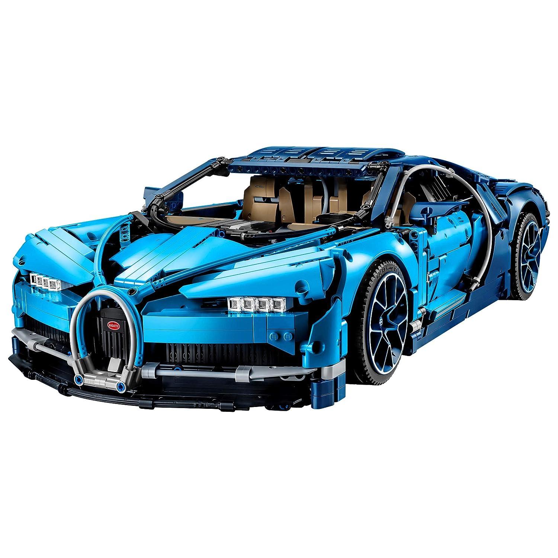 ce87f671b LEGO Technic - Bugatti Chiron, Set de Construcción de Coche de Carreras,  Modelo a Escala de Deportivo Coleccionable de Juguete (42083): LEGO:  Amazon.es: ...