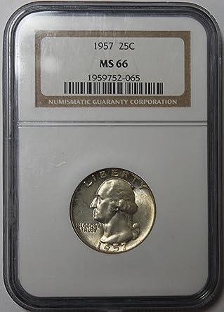 1996-D WASHINGTON QUARTER NGC MS-66 .