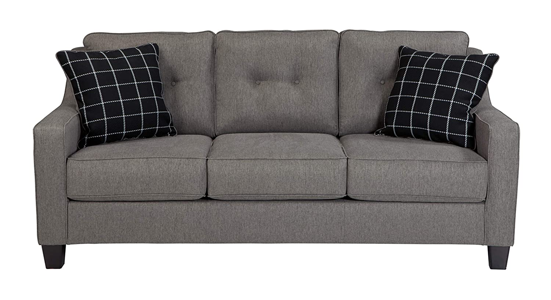 Strange Ashley Brindon Queen Sleeper Sofa Bed In Charcoal Evergreenethics Interior Chair Design Evergreenethicsorg