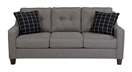 Amazon.com: Benchcraft - Brindon Contemporary Sofa Sleeper - Queen ...