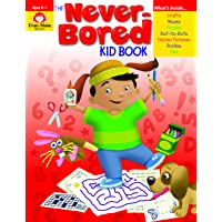 Evan-Moor The Never-Bored Kid Book for Ages 6-7 - Keep Children Entertained Through Age-Appropriate and Fun Activities