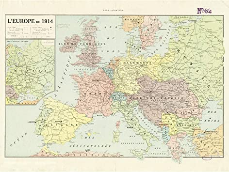 Peltier 1914 Political Map Europe French Language Large Wall Art Poster on map of ancient middle east, map of european countries, map of great britain, map of native american tribes in 1700s, map of eruope, map of england, map of italy, map of austro-hungarian empire before 1910, map of continents, map of hungary before wwi, map of asia, map of australia, map of napoleon's empire, map of africa, map of germany, map from europe, map of austria hungary 1850, map of east prussia in 1937,