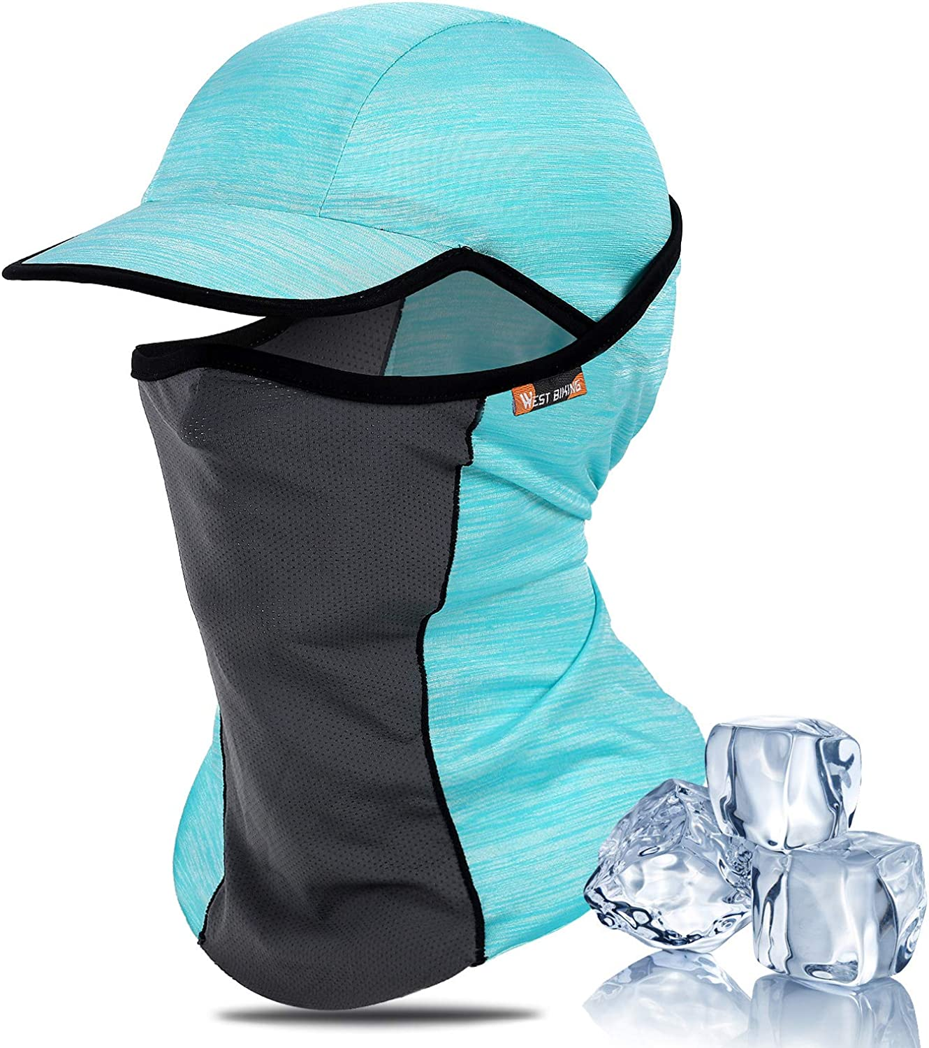 Sun UV Protection Summer Face Mask Breathable Cooling Fishing Neck Gaiter
