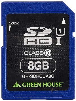 GREEN HOUSE GH-SDHCUA8G Memoria Flash 8 GB SD Clase 10 UHS-I ...