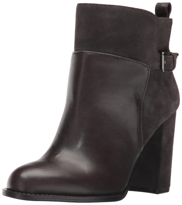 Nine West Women's Quinah Ankle Bootie B01EX0XSH4 6.5 B(M) US|Dark Grey