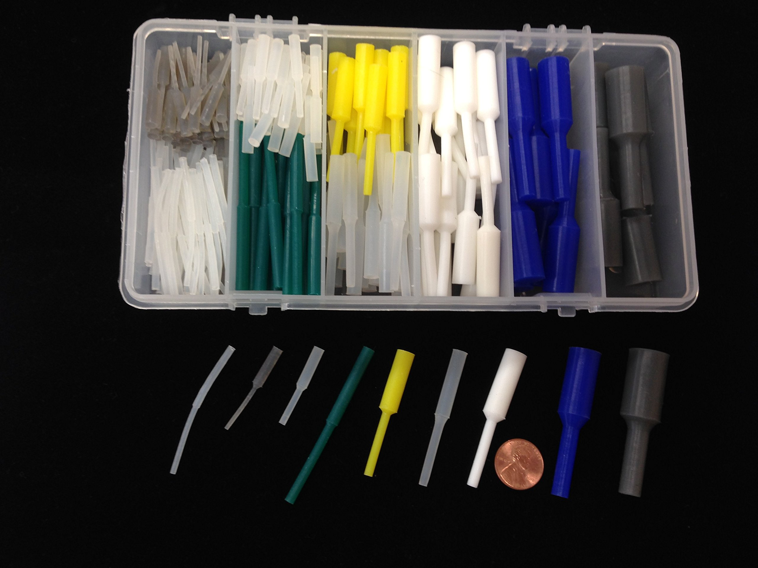 246 pc. High Temp Silicone Powder Coating Masking Pull Plug Kit