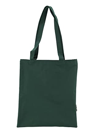 Amazon.com: Recycled Basic Tote Bag, Green: Clothing