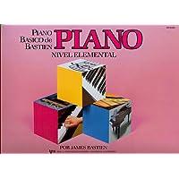 BASTIEN - Metodo Nivel Elemental para Piano