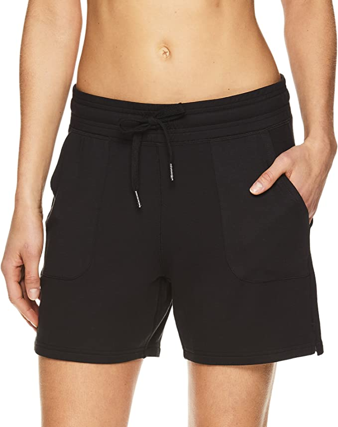 Amazon.com: Gaiam Warrior - Pantalones cortos de yoga para ...