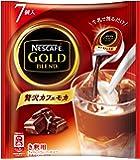 ネスカフェ ゴールドブレンド ポーション 贅沢カフェモカ 7個×6袋
