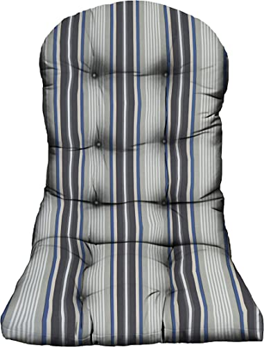 RSH D cor Indoor Outdoor Tufted Adirondack Chair Cushion Stain Weather Resistant Seat Pad Great - a good cheap outdoor chair cushion