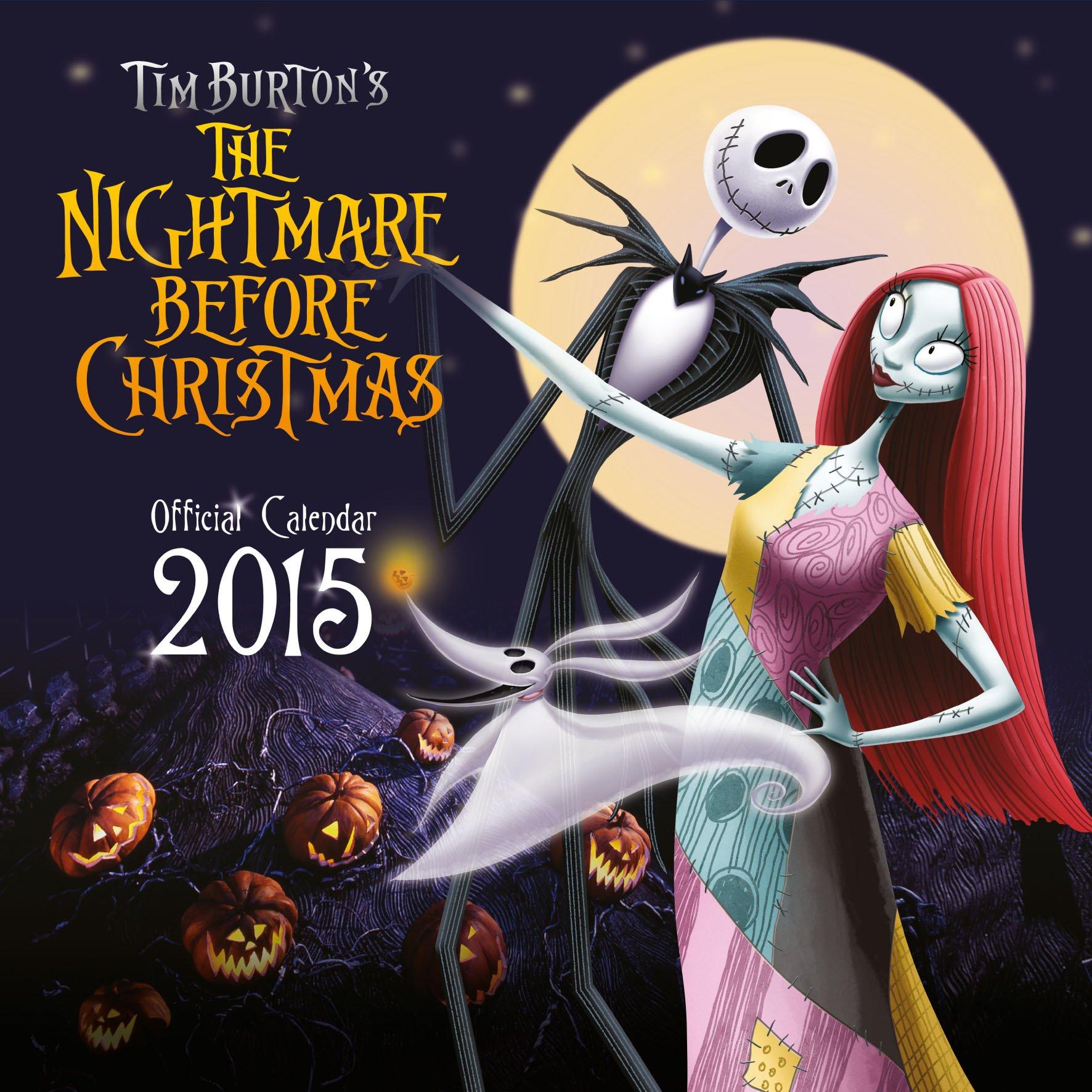Official Nightmare Before Christmas Calendar 2015: 9781780546056 ...