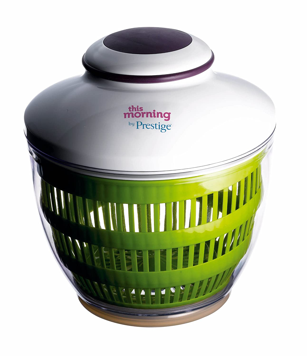 This Morning by Prestige Automatic Salad Spinner Meyer 53274