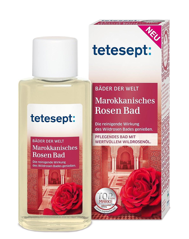 Tetesept Marokkanisches Rosen Bad, 125 ml: Amazon.de: Beauty