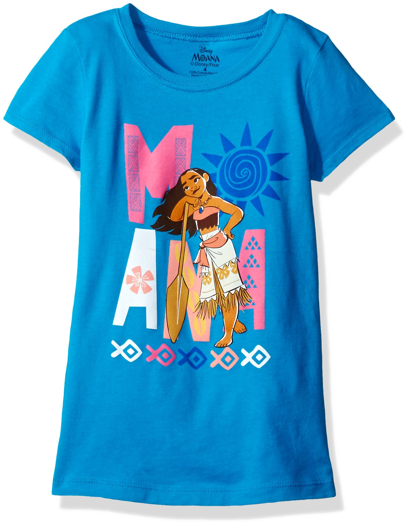 KUFV Girls Moana Girls Short Sleeve T-Shirt